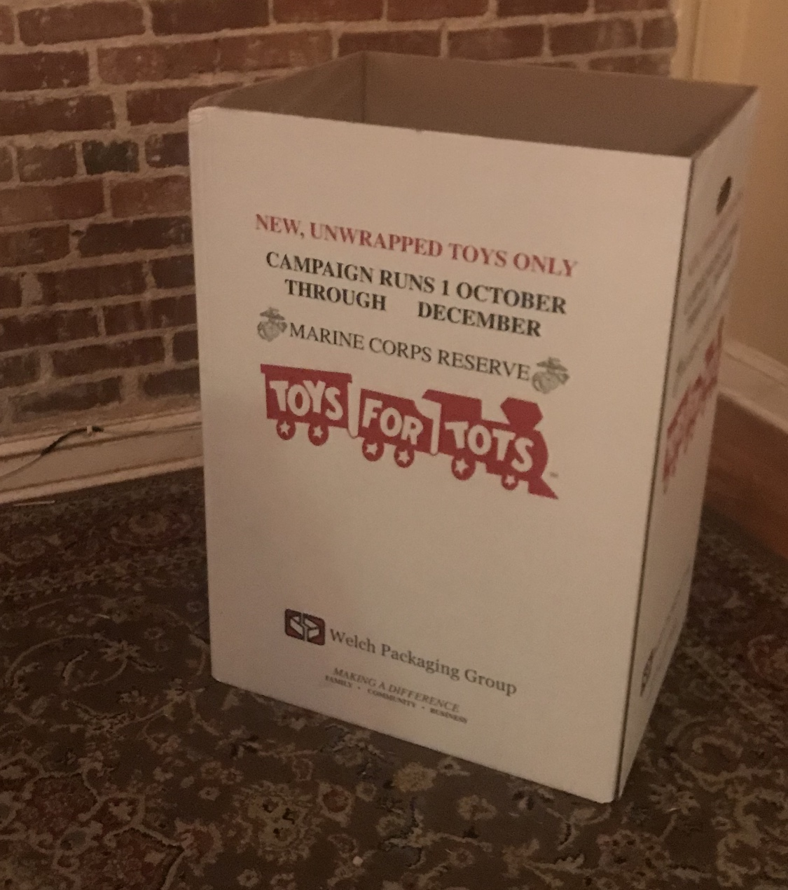 "Toys For Tots 2017 North Carolina : Local ""toys for tots campaign under way downtown the rant"