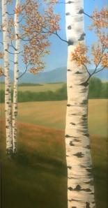 Painting by C. McAuley