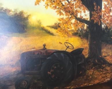 Painting by Chris Dalton